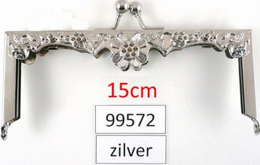Tasbeugel zilverkleur