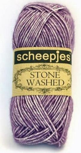 Stone Washed, Deep Amethyst 811