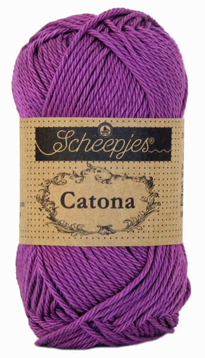 Haakkatoen Catona ultra violet 282