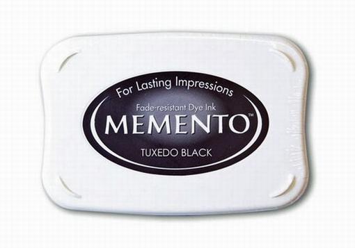 Memento inktkussen Tuxedo Black