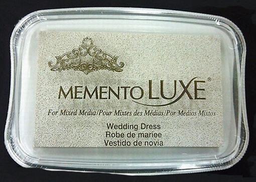 Memento inktkussen Luxe Wedding Dress