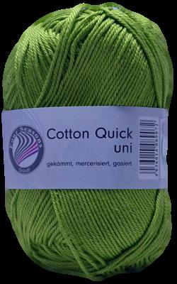 Haakkatoen Cotton Quick grasgroen 84