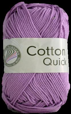 Haakkatoen Cotton Quick lila 87