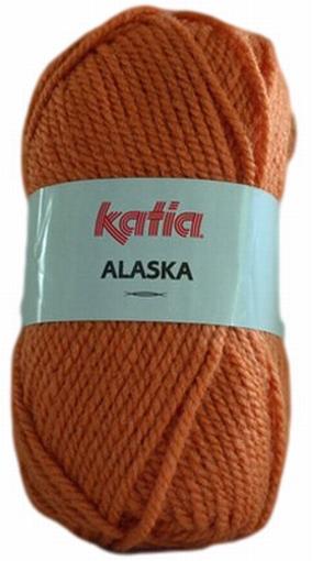 Acrylgaren Alaska oranje 24