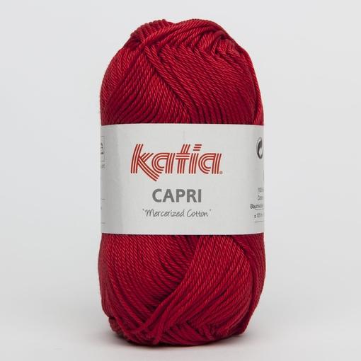 Haakkatoen Capri rood 059