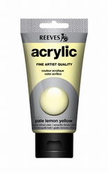 Reeves, 75 ml. - pale lemon yellow