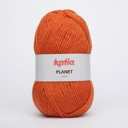 Acrylgaren Planet, oranje 4002