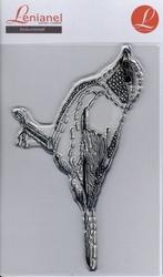Borduurstempel Vogel