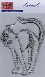 Borduurstempel Kat