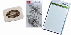 Basisstempelpakket Hommel-Vlinder