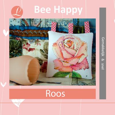 Bee Happy handwerkpakket Roos