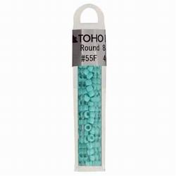 TOHO glaskralen blauw (turquoise)