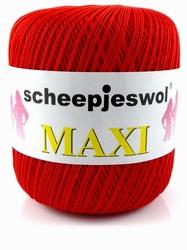 Haakkatoen MAXI rood 722
