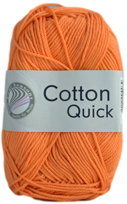 Haakkatoen Cotton Quick mandarijn 24