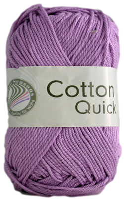 Haakkatoen Cotton Quick lila 87