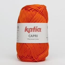 Haakkatoen Capri helder oranje 143